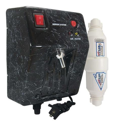 Planta Ozono Ambient Dual Fija Mr Filtro Agua Compacto Kit