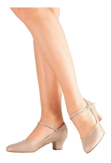 Sapato Dança De Salão Só Dança Napa Salto 4cm Pronta Entrega