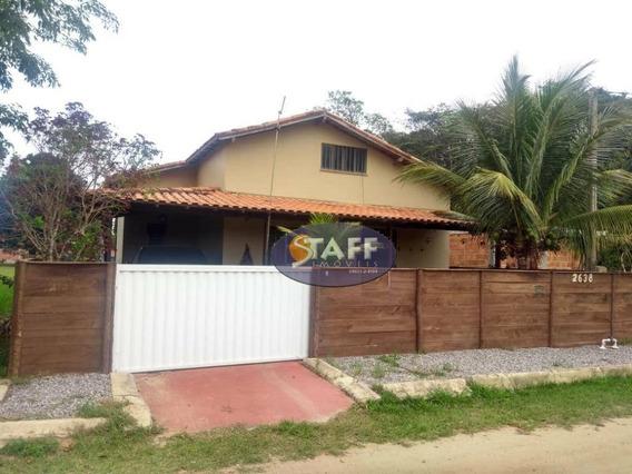 Casa Com 3 Dormitórios C/ Piscina, 300 M² Por R$ 140.000 - Unamar - Cabo Frio/rj - Ca1330