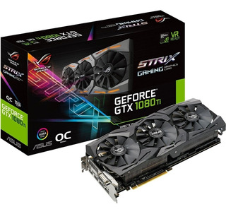 Tarjeta De Video Asus Nvidia Geforce Gtx 1080ti, 11gb Gddr5