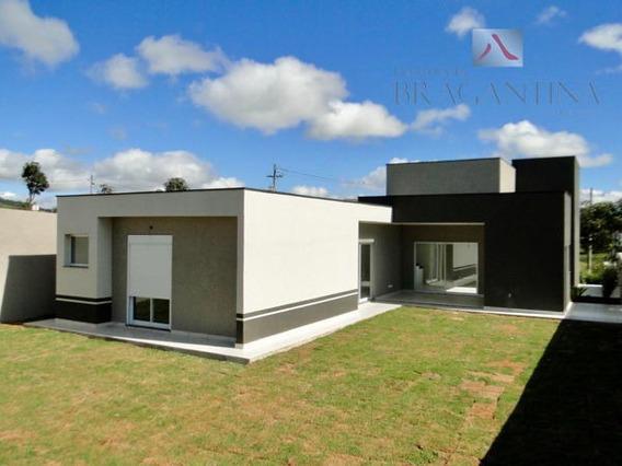 Casa De Condomínio Em Bragança Paulista - Sp - Ca0433_brgt