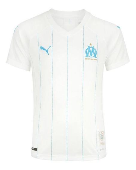 Camisa Olympique De Marseille 19/20 Torcedor- Pronta Entrega