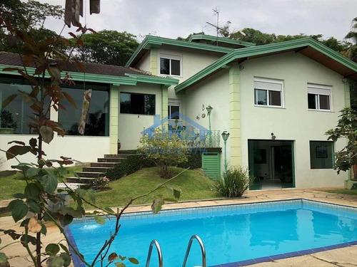 Condomínio Vila De São Fernando  Casa Com 5 Dormitórios À Venda, 577 M² Por R$ 2.600.000 - Vila De São Fernando - Cotia/sp - Ca0465