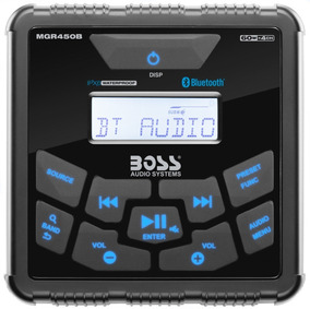 Rádio Som Multimídia B.tooth Boss Marine Marinizado Mgr450b