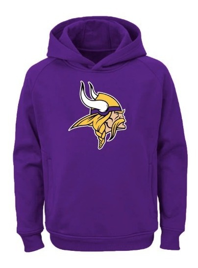 Sudadera Con Gorro Unisex Minnesota Vikings Nfl