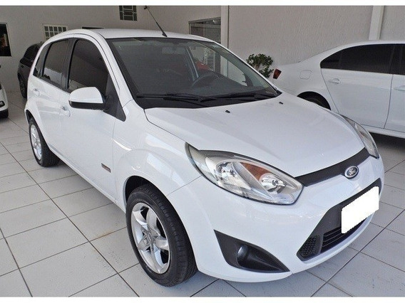 Ford Fiesta Hatch 1.6 Rocam Branco Flex 4p Manual 2013