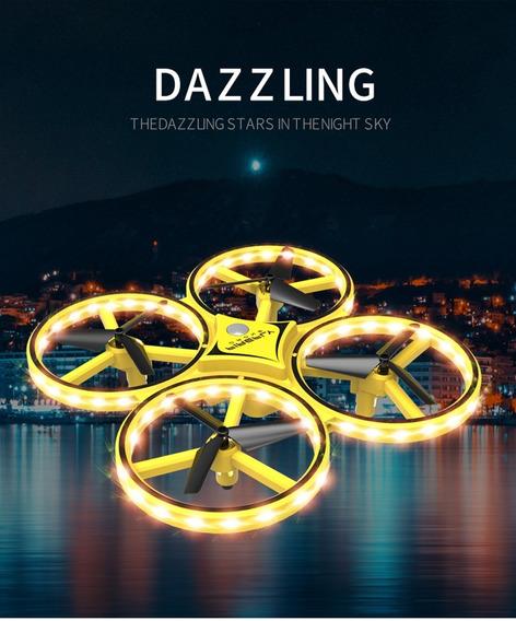 Mini Drone Quadcopter - Controle Remoto - 3 Baterias - Novo
