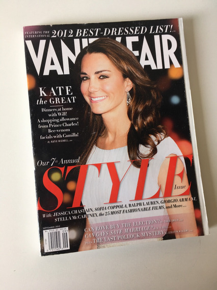 Revista Vanity Fair - Setembro 2012 Kate Middleton
