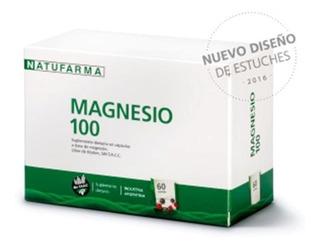Natufarma Magnesio 100 Calambres Energia X 60 Comprimidos