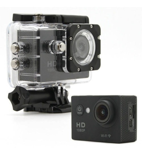 Câmera P Ação Sports Full Hd 1080p Zoom 4x 60 Fps Tj4000