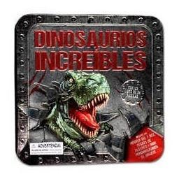 Dinosaurios Increibles Caja Lata - Lexus Editores