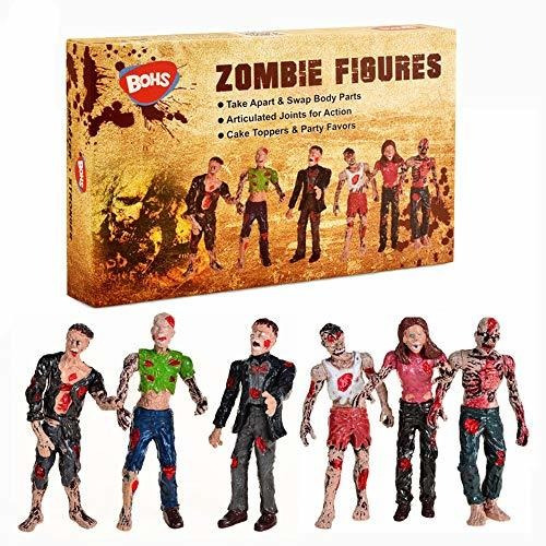 Sbso Zombi Muñecas Figuras De Acción Juguetes - Paquete D
