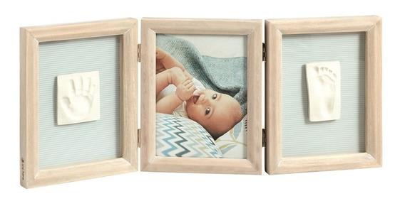Porta-retrato De Madeira Com Molde Duplo Baby Art Stormy