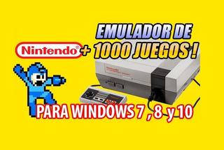 Emulador Family Game Para Pc 1000 Juegos Clásicos