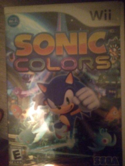 Sonic Colors **apenas Em Mãos***