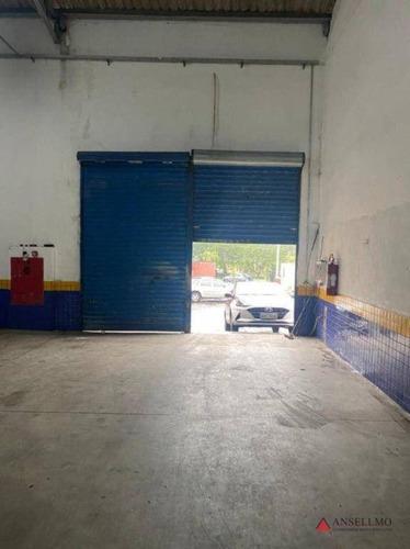 Imagem 1 de 8 de Salão Para Alugar, 307 M² Por R$ 7.500,00/mês - Demarchi - São Bernardo Do Campo/sp - Sl0294