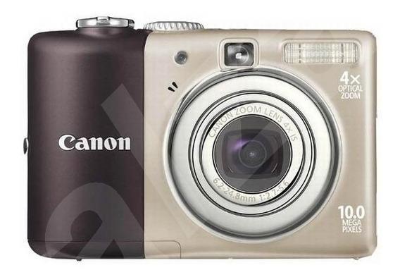 Camara Digital Canon De 10 Mp Con Accesorios.... 10 Vrds