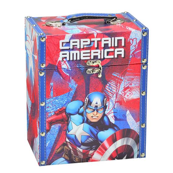 Porta Treco Decorativo - 26 Cm - Disney - Marvel - Capitão A