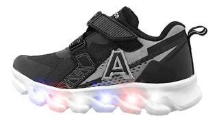 Zapatillas Addnice Wave Abrojo Con Luces 0810