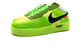 Tênis Nike Air Force 1 Off White Top Envio Imediato