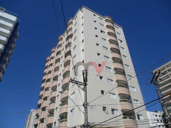 Apartamento Com 3 Dormitórios À Venda, 92 M² Por R$ 350.000 - Aviação - Praia Grande/sp - Ap0985