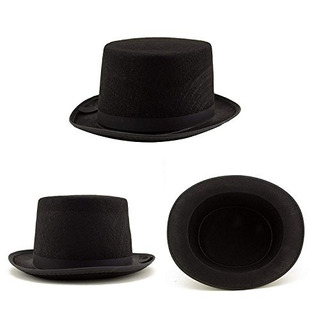 Accesorio Para Disfraz Sombrero Negro Hat Halloween Unisex