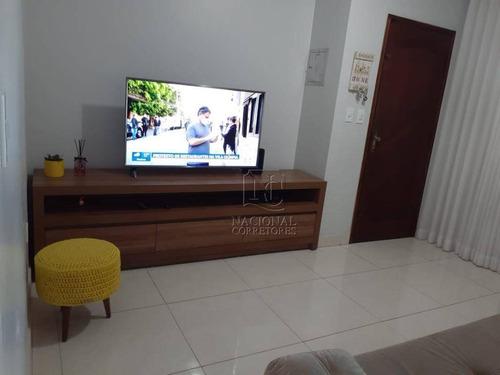 Imagem 1 de 20 de Sobrado Com 3 Dormitórios À Venda, 96 M² Por R$ 410.000,00 - Jardim Alzira Franco - Santo André/sp - So4180