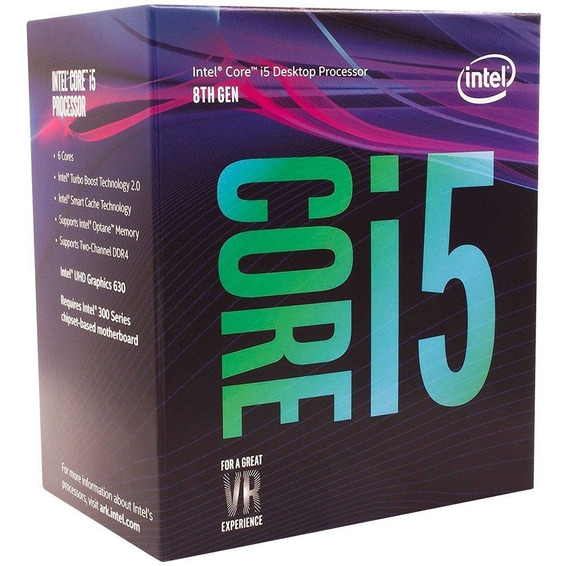 Processador Intel 8400 Core I5 (1151) 2.80 Ghz Box