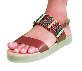 Calçados Feminino Zapplin Sandália Rasteiras Confort 19-2016