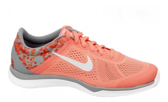 Tenis Nike In Season Tr 5 Naranja Gris Dama Oferta 819033800