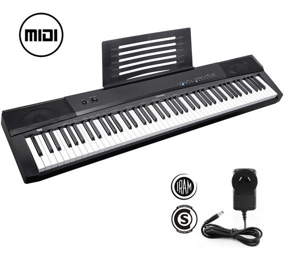 Teclado Piano Electronico Gadnic T09 Profesional Cargador