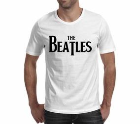 Camiseta The Beatles 3 - Branca