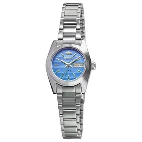 Relógio Orient Automático Feminino Fundo Azul 559wc8x A1sx