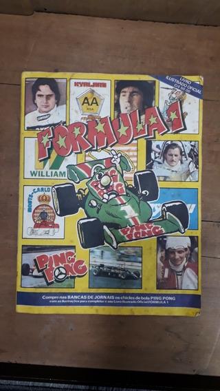 Antigo Álbum Ping Pong Formula 1