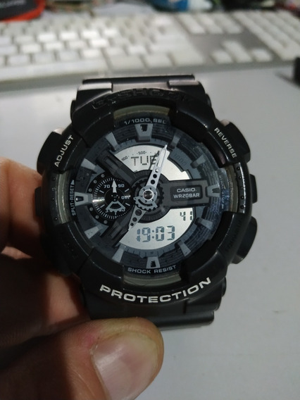 Relógio Usado Casio Original Ga110c - Antimagnetic