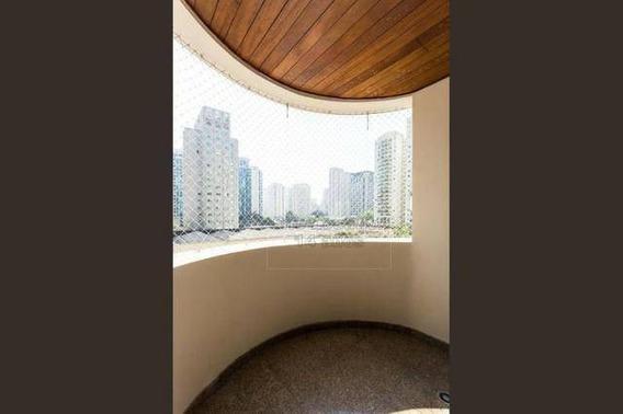 90990 * Moema Índios - 181m² Com 4 Dormitórios E 2 Vagas - Ap1041