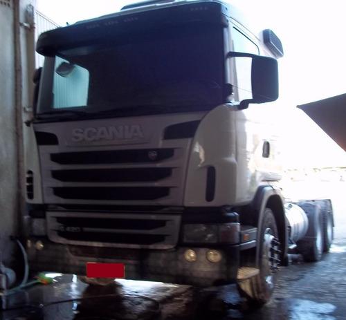 Imagem 1 de 12 de Scania G420 6x4 2011 Buglev Financiamos