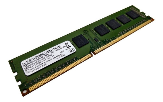 Memória Ddr3 4gb Pc Desktop 1600mhz Pc3 12800 Smart Com Nota