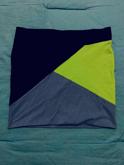 Minifalda Tricolor