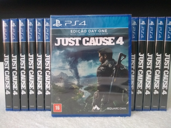 Just Cause 4 Day One Ps4 Pronta Entrega Mídia Física
