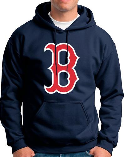 Imagen 1 de 2 de Sudadera Beisbol Red Sox Boston Baseball Mlb