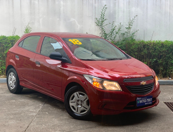 Chevrolet Onix Joy Completo Unico Dono Não Era De Locadora
