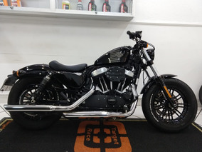 Harley Davidson Xl 1200 Forty Eight Preta 2017 - Target Race