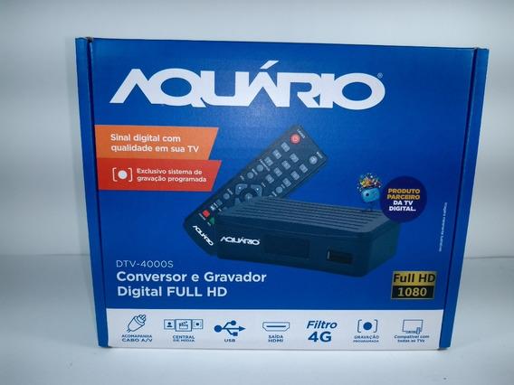 Conversor Digital Aquário Compacto Dtv 4000
