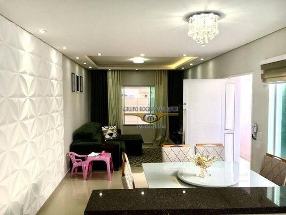 Casa Com 3 Dormitórios À Venda, 130 M² Por R$ 700.000,00 - Chácara Belenzinho - São Paulo/sp - Ca0787
