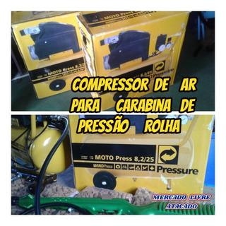 Compressor P/arma De Pressão Tiro Ao Alvo Rolha Game Ao Alvo