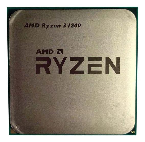 Processador gamer AMD Ryzen 3 1200 YD1200BBM4KAE de 4 núcleos e 3.4GHz de frequência