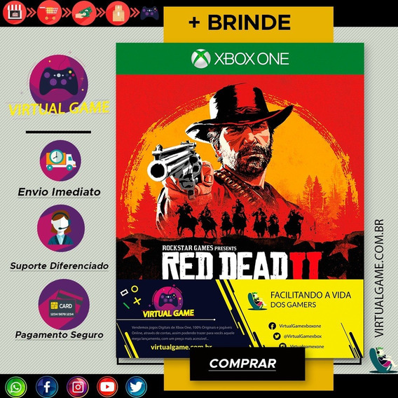 Red Dead Redemption 2 - Xbox One- Digital Ja Download