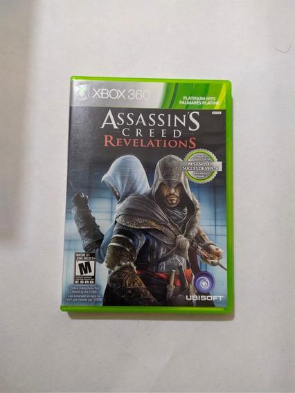 Jogo Assassins Creed Revelations Mídia Física Xbox 360