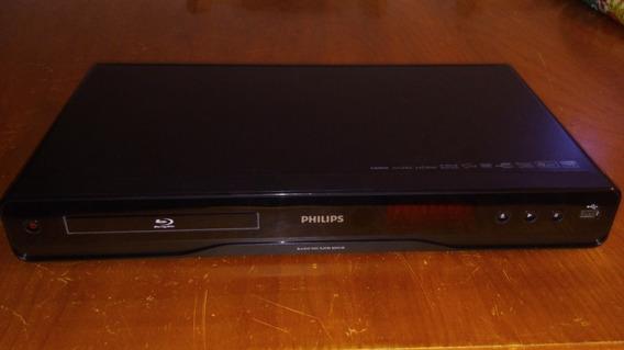 Blu-ray Disc Player Philips Bdp3100 (com Defeito) + Controle
